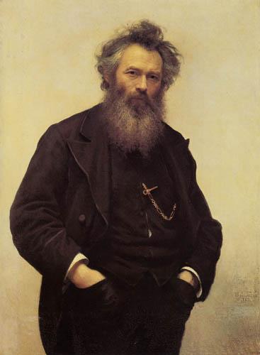 Iwan Nikolajewitsch Kramskoj - The Painter Iwan Schischkin