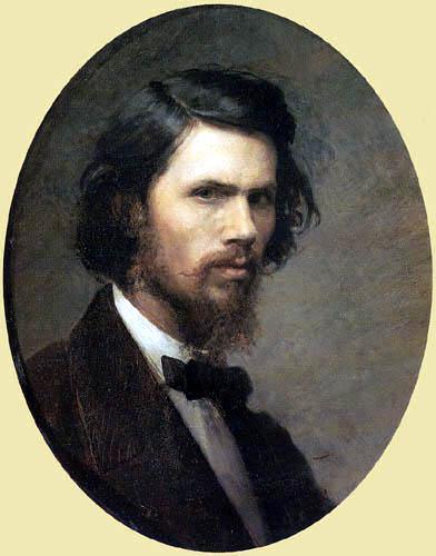 Iwan Nikolajewitsch Kramskoj - Selfportrait