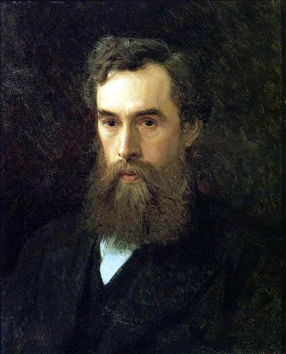 Iwan Nikolajewitsch Kramskoj - Portrait of Pawel Tretjakow
