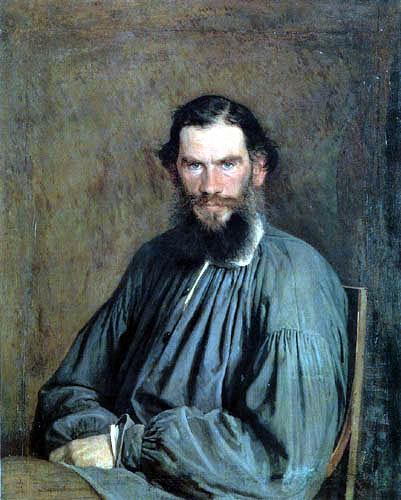 Iwan Nikolajewitsch Kramskoj - The Writer Leo Tolstoy
