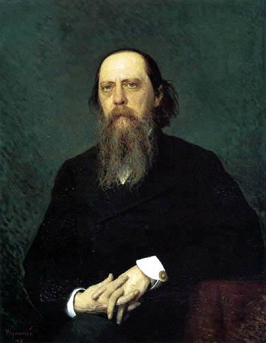 Iwan Nikolajewitsch Kramskoj - The Writer Mikhail Saltykov-Shchedrin
