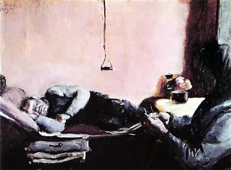 Christian Krohg - La siestre de Niels Gaihedes