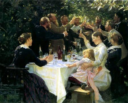 Peder Severin Krøyer - Hipp, Hipp, Hurra!