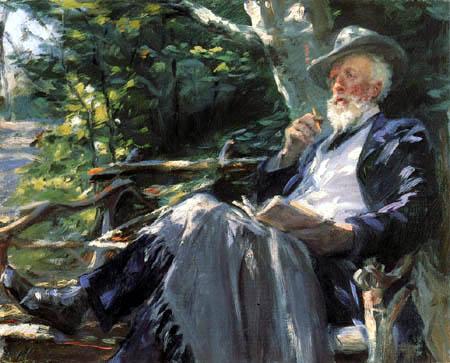 Peder Severin Krøyer - Holger Drachmann