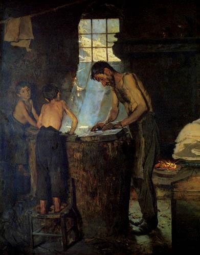Peder Severin Krøyer - Italienische Werkstatt
