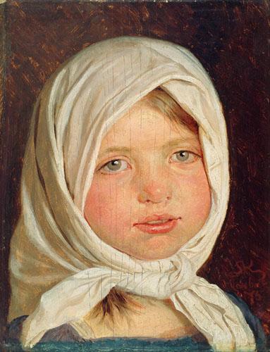 Peder Severin Krøyer - Petite fille de Hornbæk