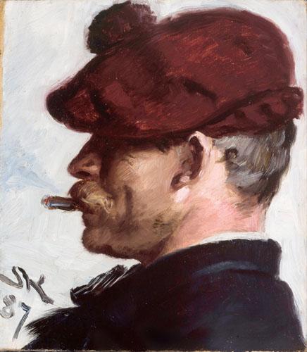 Peder Severin Krøyer - Thorvald Niss