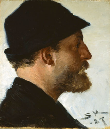 Peder Severin Krøyer - Viggo Johansen
