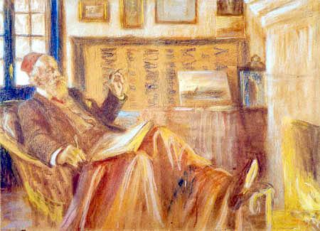 Peder Severin Krøyer - À la cheminée