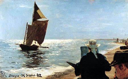 Peder Severin Krøyer - À la plage de Skagen