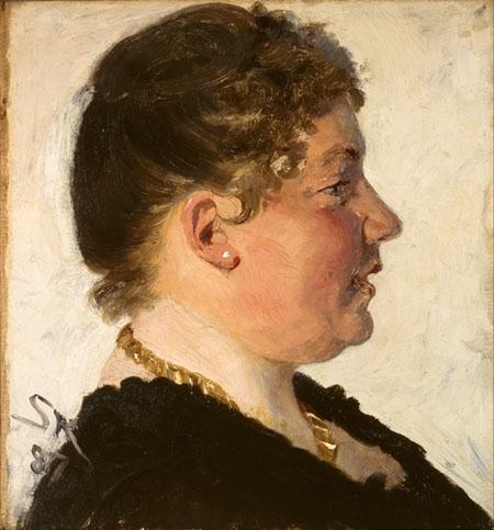 Peder Severin Krøyer - Beatrice Diderichsen