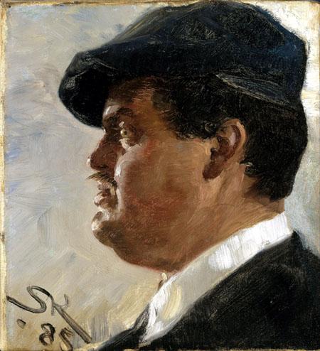 Peder Severin Krøyer - Carl Locher