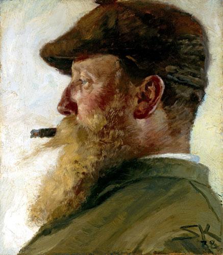 Peder Severin Krøyer - Christian Krohg