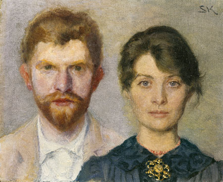 Peder Severin Krøyer - Marie and Peter Krøyer