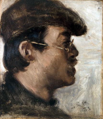 Peder Severin Krøyer - Eilif Peterssen
