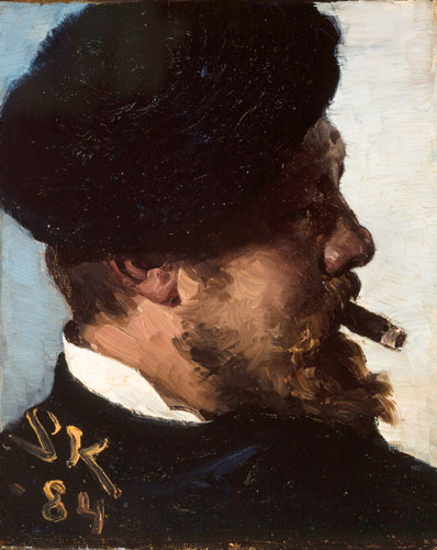 Peder Severin Krøyer - Fritz Stoltenberg