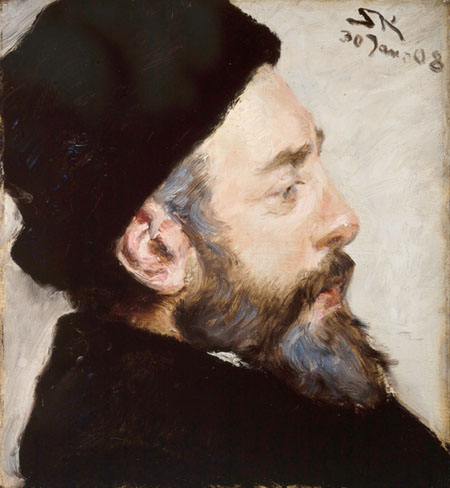 Peder Severin Krøyer - Henrik Pontoppidan