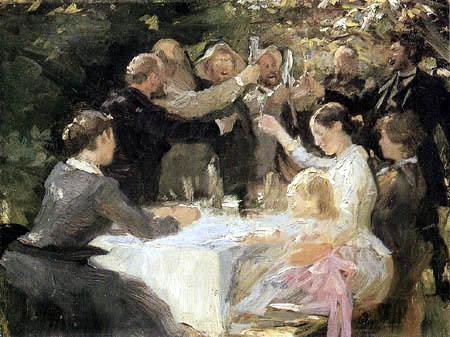Peder Severin Krøyer - Hip, Hip, Hurra