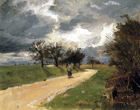 Peder Severin Krøyer - Route près de Cernay-La-Ville