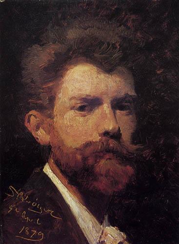 Peder Severin Krøyer - Self portrait