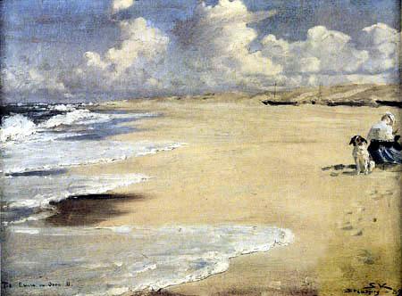 Peder Severin Krøyer - À la plage de Stenbjerg