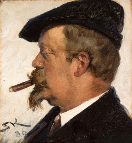 Peder Severin Krøyer - Vilhelm Rosenstand