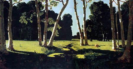 Archip Iwanowitsch Kuindshi - Birch trees