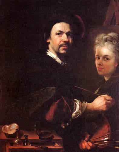 Jan (Johann) Kupecký (Kupezky) - Selfportrait