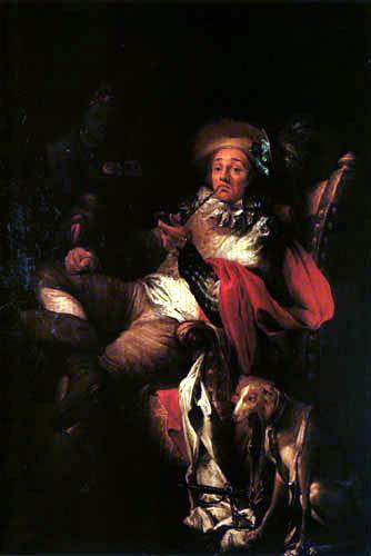 Jan (Johann) Kupecký (Kupezky) - Der Raucher
