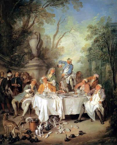 Nicholas Lancret - Lunch in the Park