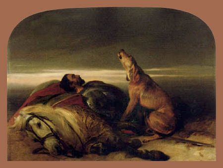Sir Edwin Henry Landseer - The Faithful Hound