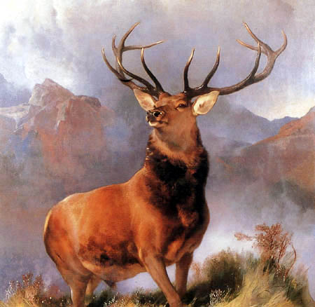 Sir Edwin Henry Landseer - The Monarch of the Glen