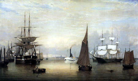 Fitz Hugh Lane - The Port of Boston