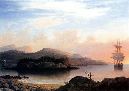 Fitz Hugh Lane - Off Mount Desert Island