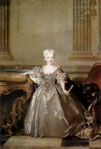 Nicolas de Largillière - Maria Ana Victoria de Borbon
