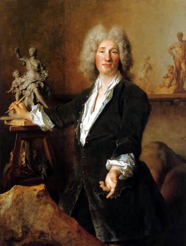 Nicolas de Largillière - The Sculptor Nicolas Coustou