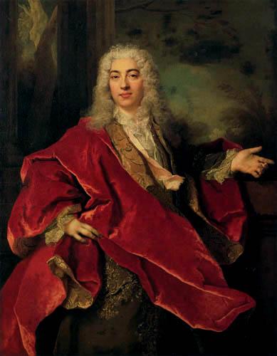 Nicolas de Largillière - Portrait of a man