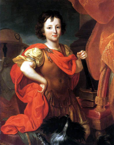 Nicolas de Largillière - Portrait of Philippe d´Orleans, Duke of Chartres