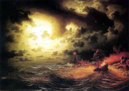Markus Larson - Ship in flames