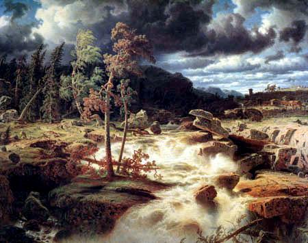 Markus Larson - Waterfall in Småland