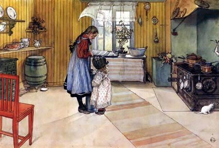 Carl Olof Larsson - La cuisine