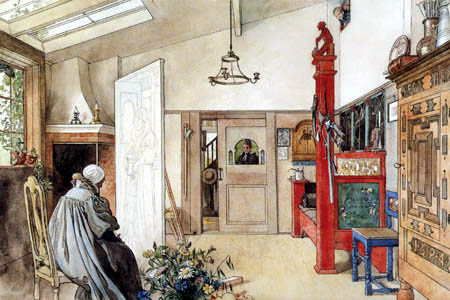 Carl Olof Larsson - The other half of the studio