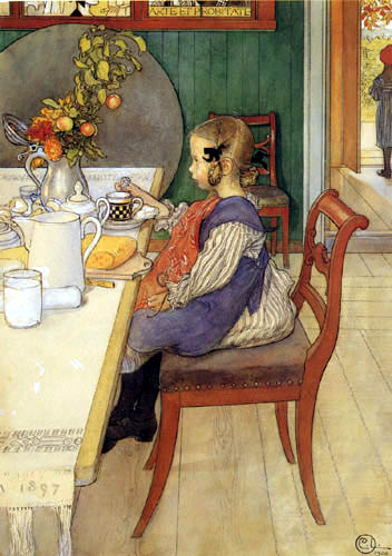 Carl Olof Larsson - Breakfast
