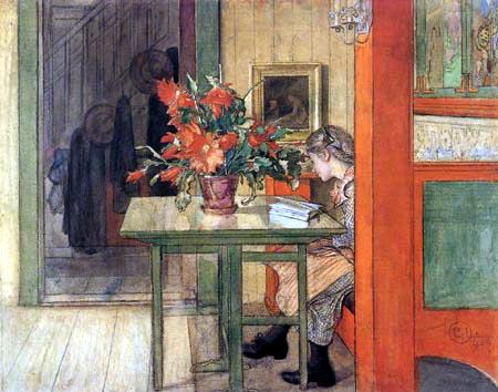 Carl Olof Larsson - Lisbeth lisant