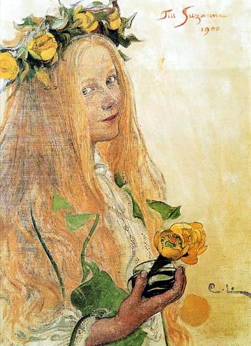 Carl Olof Larsson - Suzanne