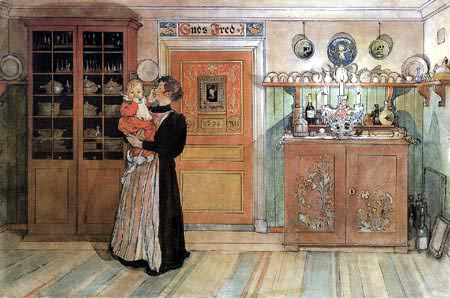 Carl Olof Larsson - Between Christmas and New Year