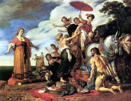 Pieter Lastmann - Odysseus und Nausikaa