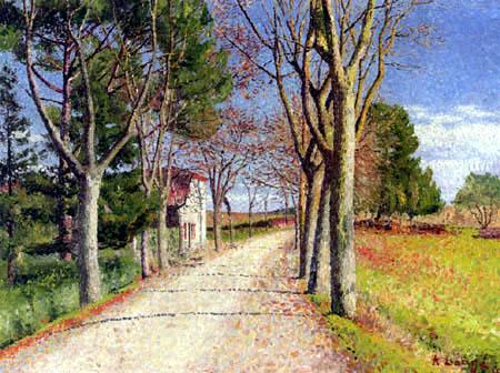 Achille Laugé - Road in Cailhau