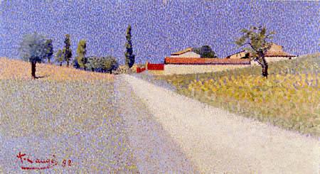 Achille Laugé - Route de Campagne