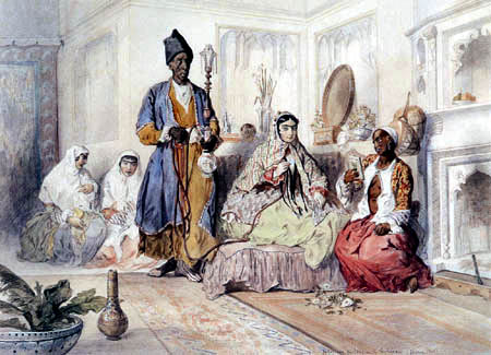Jules Laurens - In einem Teheraner Harem